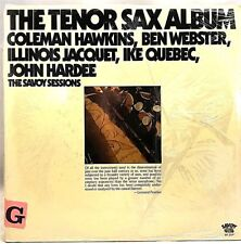 "HAWKINS/WEBSTER...""THE TENOR SAX ALBUM"" 2x Vinyl LP- 1977 Savoy SJL 2220 - NM"