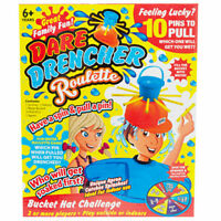 Wet Dare Drencher Roulette Head Hat Challenge Family Game