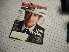 Bob Dylan Covers Rolling Stone Magazine November 2012 Billie Joe Armstrong