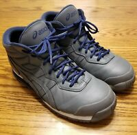 ASICS Men's Snow Shoes SUNOTORE TFS284 Gray & Blue Size 9 Only worn a few times