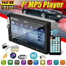 Touchable Screen 2 DIN 7'' inch MP5 Car Radio Stereo Player FM bluetooth  A