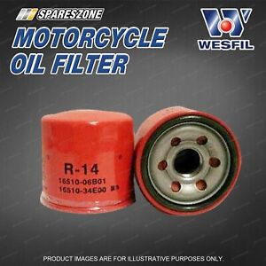 Wesfil Motorcycle Oil Filter for Suzuki BOULEVARD C109R C50 90 M109R M50 M90 S83