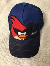 ANGRY BIRDS SPACE BLUE BASEBALL CAP WITH RED ANGRY BIRD YOUTH ONE SIZE UNISEX