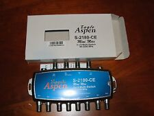 Eagle Aspen 3X8 Multiswitch S-2180-CE ; New