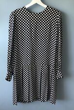Givenchy Couture Paris Vintage Pleated Silk Dress, size small/medium