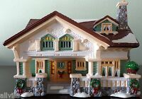 CRAFTSMAN COTTAGE # 54372 ARCHITECTURE SERIES  DEPT 56 RETIRED SNOW VILLAGE