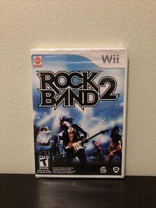Rock Band 2 (Nintendo Wii, 2008 New Sealed