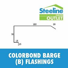 Colorbond Barge (B) Flashings - Per Meter