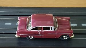 Model Motoring 1955 Chevy Belair HO Slot Car body with a Aurora Tjet Chassis