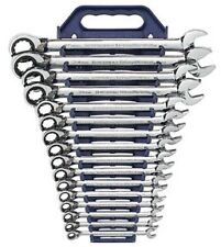 GearWrench 16pc Master Metric Reversible Ratcheting Wrench set 8-25MM #9602N