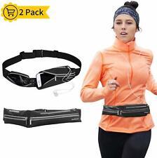 Running Belt, Bounce Free Running Pouch Belt, Ultra Light Running Bag