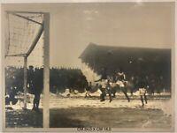 Calcio Juventus 2 Bologna 2 19 gennaio 1933 Monzeglio Munerati colpito di testa