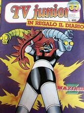 Junior TV 37 1981 MAZINGA Z [G.143]
