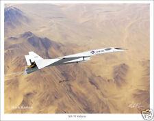 North American XB-70 Valkyrie Aviation Art Print