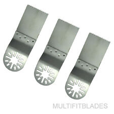 """3 x 1-1/4"""" Stainless Oscillating Tool Blades - Chicago Electric Compatible"""