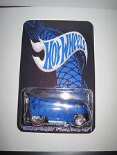 Hot Wheels VW Drag Bus Custom Blue KOI Pond  Real Riders