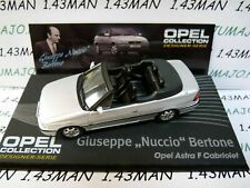 OPE126R 1/43 IXO designer serie OPEL collection ASTRA F cabriolet Nuccio Bertone