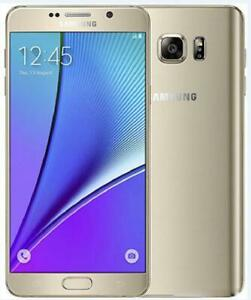 """Samsung Galaxy Note5 N920A N920T N920V 4GB 32GB ROM Wifi 16MP Android Phone 5.7"""""""
