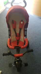Besrey Baby Trike 4in1 Tricycle Stroller Toddler Bike with Push Handle BR-C706S