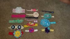 Baby girl headbands bows Lot -15 pcs