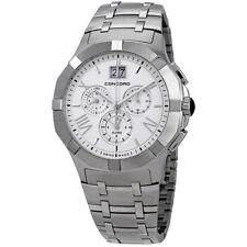 Concord 0320195 Saratoga Chronograph Sapphire Crystal Watch!  $2800 Retail!