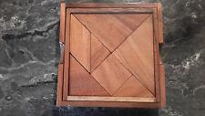 casse tête bois le tangram box carré