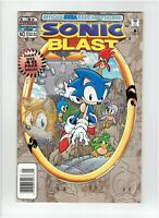 Sonic Blast #1 1997 Canadian Newsstand Price Variant Rare Movie Coming