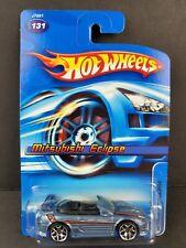 2006 Hot Wheels Mattel #131 Mitsubishi Eclipse Blue JDM Car NEW