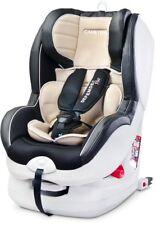 CARETERRO DEFENDER PLUS BEIGE BABY CAR SEAT ISOFIX TOP TETHER 0-18 KG