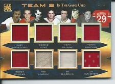 2017 Leaf ITG In The Game Used Team 8 HOWE SAWCHUK LINDSAY ULLMAN & + #T8-02 1/1