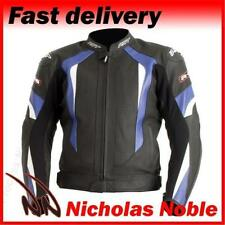 Men's Leather Summer Attachment Zip, Full Motorcycle Jackets
