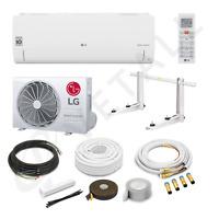 LG Standard Klimaanlage S12ET R32 BTU 12000 3,5 kW + Quick Connect 3 Meter