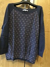 Fat Face Jumper Top (Size 16)