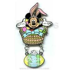 Mickey Mouse Happy Easter 2006 Collection Disney Bunny dangle Le 1500 Pin 45689