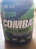 Combat 100 vanilla whey protein powder (5lb)