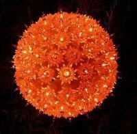 Konstsmide 3503-850 Lichterball Lichterkugel ORANGE Fensterdeko 100 Birnchen