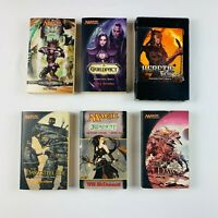 Magic The Gathering MTG 6x Random Paperback Books Pack