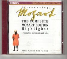 (HO608) Mozart, The Complete Mozart Edition Highlights - 1990 CD