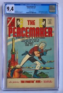The Peacemaker #1 CGC 9.4 1967 (This the Highest Grade of this comic)