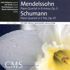 MENDELSSOHN & SCHUMANN PIANO QUARTETS + MÄRCHENBILDER – BBC CD (2014)
