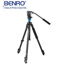 BENRO A1573FS2 Video Tripod Professional Aluminum Camera Tripods With S2 Head