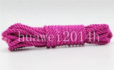 5mm Twist Nylon Rope String Cord Twine Rope DIY Making Bracelet Synthetic Silk