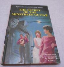 Dana Girls Secret of the Minstrel's Guitar 1967 HC 1st ed/print # 29 Beautiful!