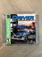 Driver You Are The Wheelman PlayStation 1 PS1 Video Game (1999)