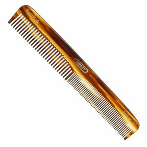 Kent Comb 6T 175mm Hand Made Medium Size Coarse Fine Toothed Hair Dressing