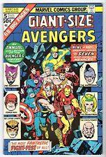 Giant-Size Avengers #5, Very Fine - Near Mint Condition!