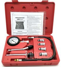 8Pc Spark Plug Cylinder Compression Tester Test Kit Professional Gas Engine