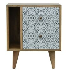Artea Porcelain Pattern Mini Cabinet Home Furniture