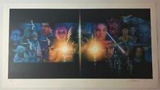 DREW STRUZAN SIGNED ARTIST PROOF GICLEE PRINT STAR WARS CRYSTAL STAR