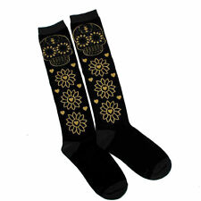 Floral Knee-High Socks for Women